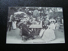 FRANCE - carte (reproduction) (st-avertin , restaurant fouqueux) (cy68) french