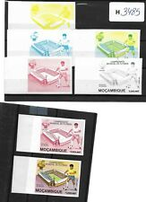 AFRICA. MOZAMBIQUE. FOOTBALL/ SOCCER CHAMPIONSHIP. PROOFS.MNH.7 SCANS/42 proofs