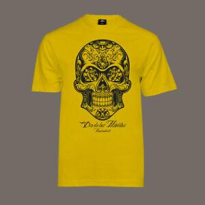 T-Shirt Dia De Los Muertos | Lucha Libre Tattoo Bike Hot Rod Totenkopf Skull V8