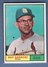 1961 Topps #32 Ray Sadecki(1) NM GO220