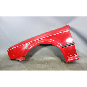 1988-1991 BMW E30 325ix Left Front Drivers Fender Quarter Panel Cinna Bar Red OE