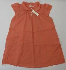 Soor Ploom Girl's Short Sleeve Mini Dress in Coral Size 6/7Y
