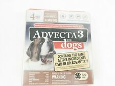 Advecta 3 For XL Dogs Over 55 Pounds 4 Month Supply Flea & Tick Remover