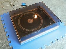 Philips 222 Turntable with Cover.  Clean and working!