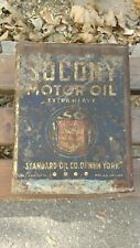 One Gallon Socony Oil Can