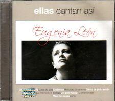 EUGENIA LEON Ellas Cantan Asi CD con sus grandes exitos y sus mejores canciones