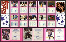 1983 TOPPS NHL Hockey Sticker Complete Set of 330 P. Lindbergh Rookie Gretzky