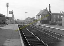 Alford Town Railway Station Photo. Willoughby - Aby. Authorpe Line. (1)