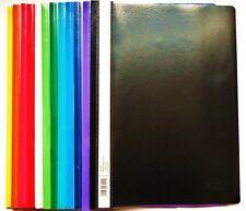 10 Schnellhefter A4 aus Kunststoff  Farben wählbar Plastikhefter Schulhefter