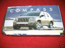 2007 JEEP COMPASS  OWNERS MANUAL 07 NEW SET SEALED