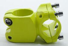 PROMAX MOUNTAIN BIKE STEM 40mm GREEN 25.4mm