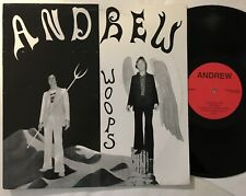 ANDREW - WOOPS - BREEDER BACKTRACK ARCHIVE SERIES LP icelandic psych rock
