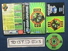 Sega Worldwide Soccer 97 SegaSaturn Sega Saturn EXCELENTE ESTADO