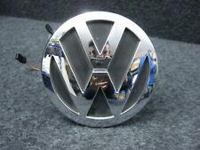 VW Phaeton 3D Taster Öffner Heckklappe Chrome VW Zeichen 3D5827601B