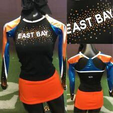 Real Cheerleading Uniform Youth Med Crystals