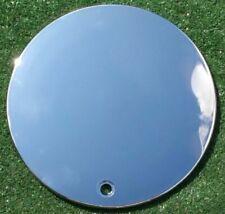 Chrome Vogue Corona Center Cap Plain Smooth No Logo Wheel Rio Octavo 6 3/8 inch