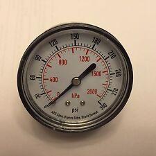 4EFE8 Pressure Gauge, Test, 2-1/2 In 0-300 PSI