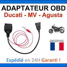 Adaptateur OBD2 vers DUCATI 3 broches TUNE ECU Compatible MOTOS DUCATI MV AGUSTA