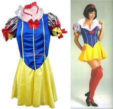 Unbranded Polyester Dress Snow White Costumes for Women