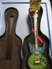 United Way Rock and Roll Hall of Fame Fender Guitar w/ Case Vintage RARE!