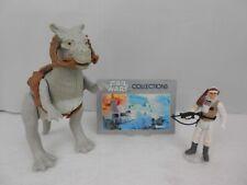 "Vintage Star Wars ESB 1980 Tauntaun ""Closed Belly"" w/Saddle/Reins & Luke ""Hoth"""