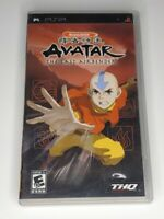 Avatar the Last Airbender Sony PSP PlayStation Portable Complete