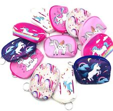 12pcs Lot Unicorn Theme Girls Candy Bags Filler Coin Purses Party FAVORS