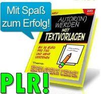 ROH TEXTE zum Thema ERFOLGREICH WERDEN Rohtexte Autor eBook Textvorlagen NEU PLR