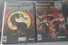 Mortal Kombat Armaggedon Deception Shaolin Monks PS2 used
