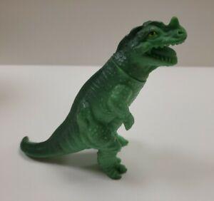 Vintage Playskool Definitely Dinosaurs Ceratosaurus Green Dinosaur 1988