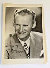 Vintage Sammy Kaye Publicity Shot Photo Signature In Print Big Band Music Swing