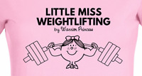 LITTLE MISS WEIGHTLIFTING T-SHIRT - Eleiko powerlifting shoes CrossFit