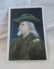 Rare Postcard Buffalo Bill Painting by Arthur Jule Goodman Johnny Baker Lookout