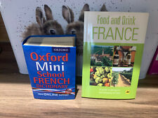 Oxford Mini School French Dictionary, Oxford Dictionaries, with food book