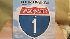 1973 FORD  STATION WAGONS BROCHURE