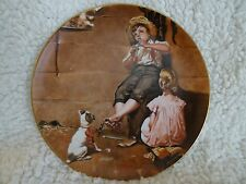 Norman Rockwell Fairmont China Collector Plate From Early Works Music Master.