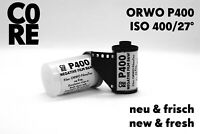 ORWO P400 Film by C0RE • ISO 400 • 24 Exp • b/w negative • NEW & FRESH • 35mm