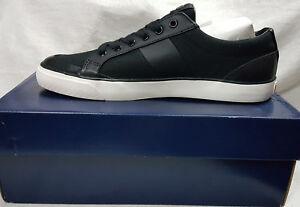 Ralph Lauren Mens Shoes Ian Polo Black Size 10.5 Agsbeagle