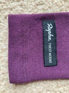 Rapha Merino Arm Warmers Medium in Plum/Purple