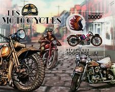 SCOTT SQUIRREL 486cc & Triumph/Harley Classic Motorcycle Motorbike Stamp Sheet