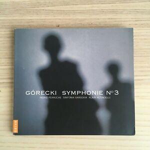Gorecki _ Symphonie n° 3 _ SACD Album digipak _ RARO! Naive 2005 NEAR MINT