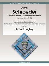 Schroeder 170 Foundation Studies for Vioconcello Vol. 1 - Method Book O2469
