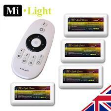 4 X MiLight CCT 2.4G 4 Zona RF Controlador de receptor de tira de LED cambio de la temperatura