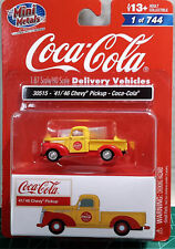 Classic Metal Works #30515 1941-1946 Chevy Pickup - Coca-Cola Vehicles HO Scale