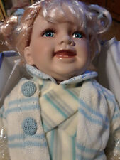 """Cathay Collection Doll """"Rosalie"""" 354/5000 21"""" w/Blanket,Box,Certificate"""