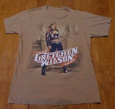 #2667-7 Gretchen Wilson 2008 Tour 2-Sided Graphics T-Shirt M