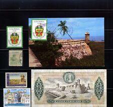 CARTAGENA,-COLOMBIA,- > BANKNOTE 1980, POSTAL VISITA REYES DE SPAIN /76'