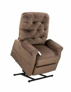 Mega Motion Classica Three-Position Reclining Lift Chair - Chocolate