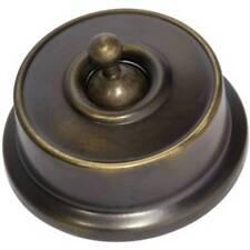 Federation Antique Brass Light Switch. SW5560