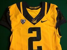 California Bears 2015 Nike FLYWIRE Game Issued Gold Jersey D. Lasco's #2- SAINTS